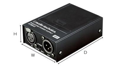 オーディオテクニカ ファンタムパワーサプライ(AT8541)