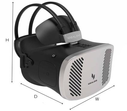 VR Japan VRヘッドマウントディスプレイ(IDEALENS K2+)