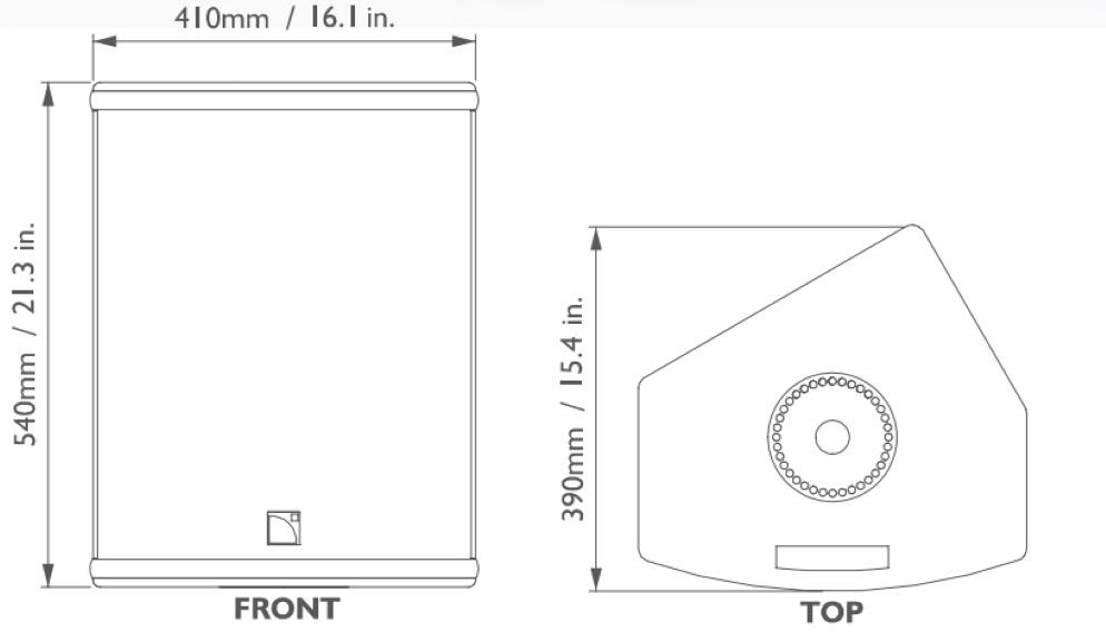 L-Acoustics パワードスピーカー(112P)