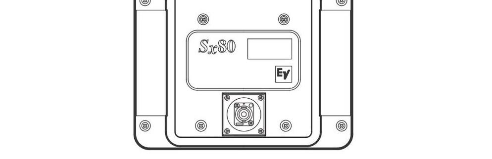 Electro-Voice スピーカー(SX80)