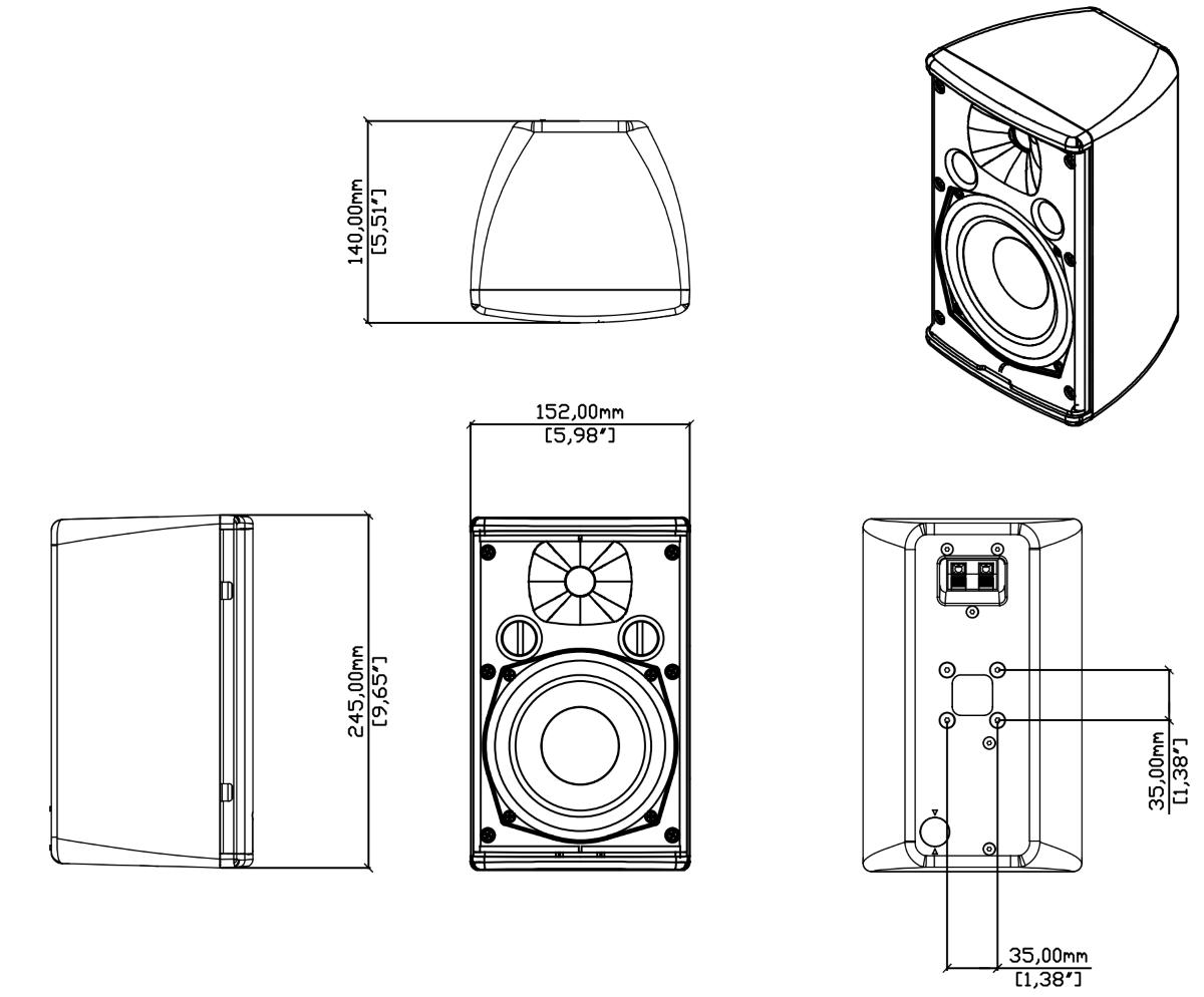 MARTIN AUDIO スピーカー(A55) 2個1組