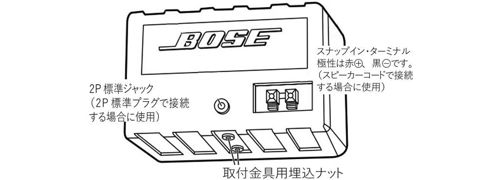 BOSE スピーカー(101MM L・R)