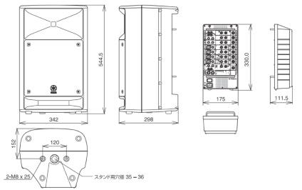 YAMAHA ポータブルPAシステム(STAGEPAS500)
