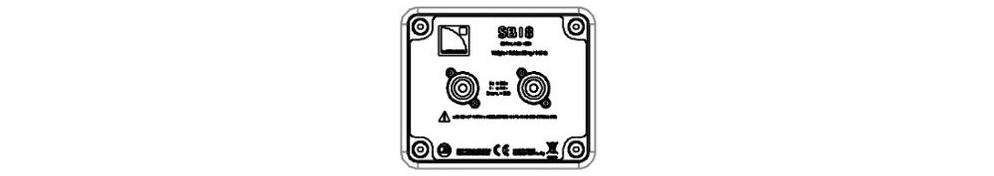 L-ACOUSTICS サブウーファー(SB18m)