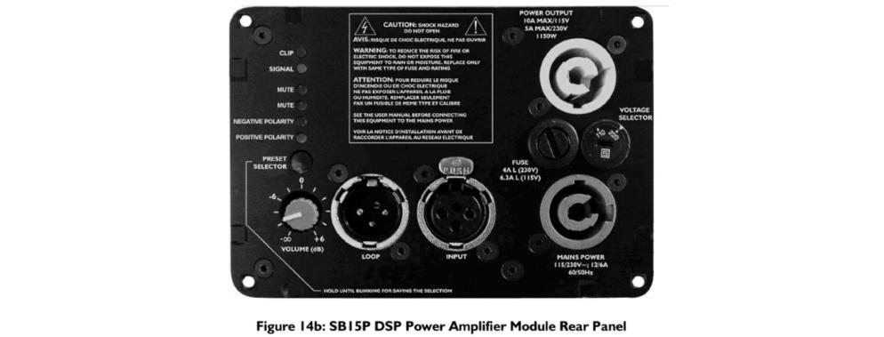 L-Acoustics パワードサブウーファー(SB15P)