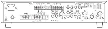 TOA ハイインピーダンスアンプ(A-1806)ホーンスピーカー用