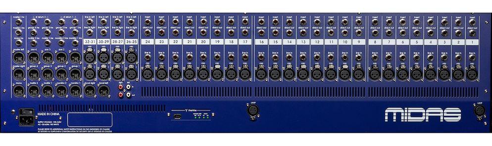 MIDAS 32chアナログミキサー(VeniceF32)