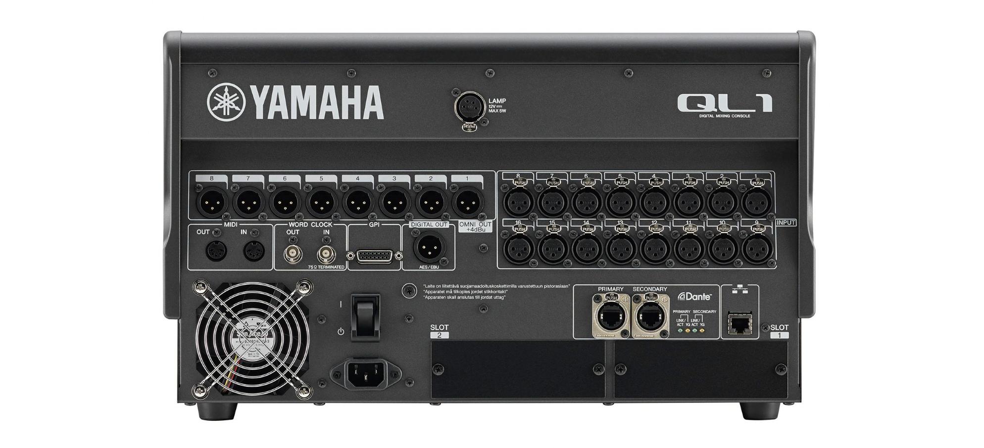 YAMAHA 16chデジタルミキサー(QL1)
