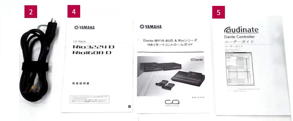 YAMAHA I/Oラック(Rio3224-D)
