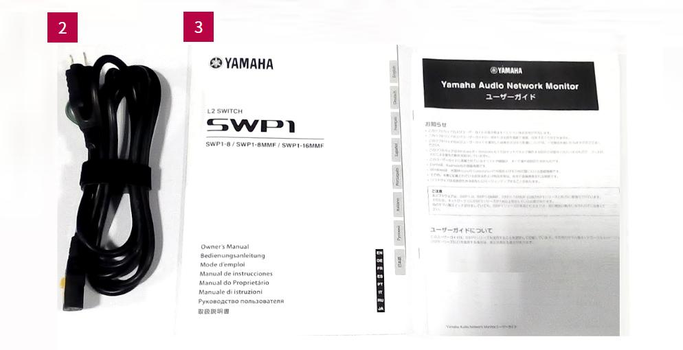 YAMAHA スイッチングハブ(SWP1-16MMF)