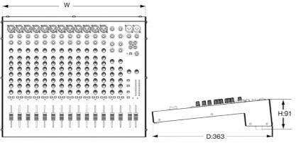 SOUNDCRAFT 12chアナログミキサー(EPM12)