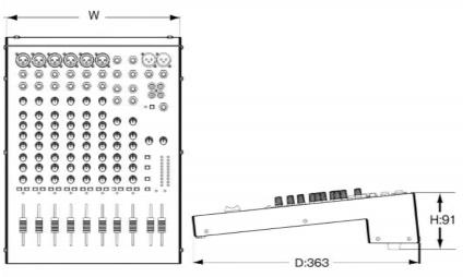 SOUNDCRAFT 6chアナログミキサー(EPM6)