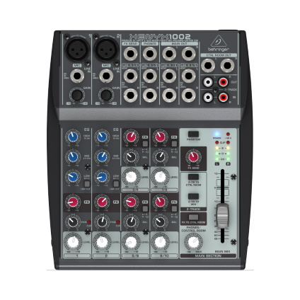 BEHRINGER 10chアナログミキサー(XENYX1002)