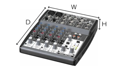 BEHRINGER 8chアナログミキサー(XENYX802)
