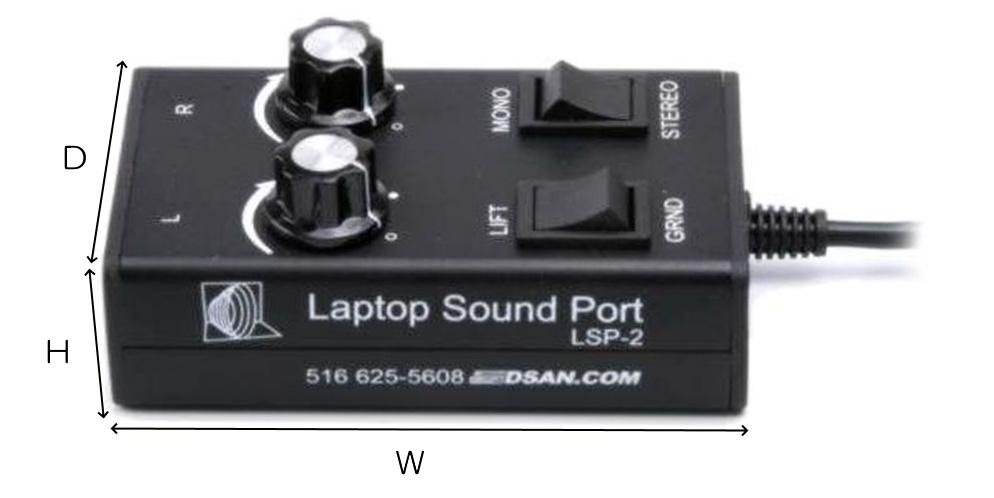 D'san PC音声コントローラーステレオ用(LSP-2)