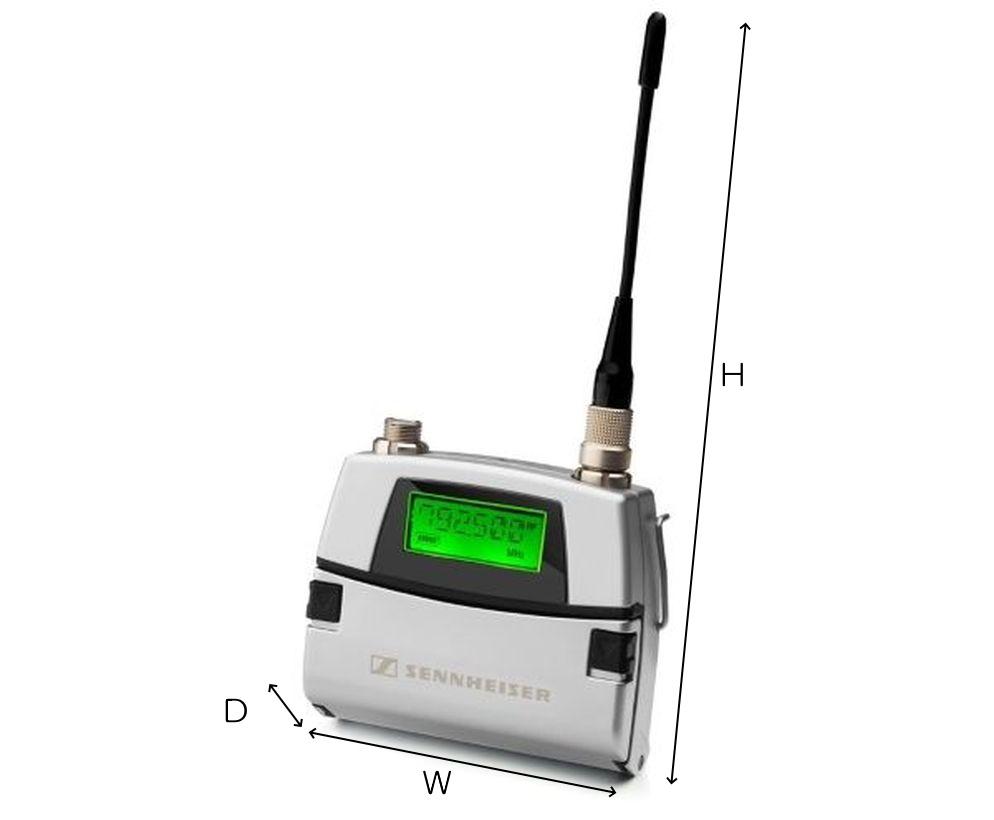 SENNHEISER WS帯ワイヤレストランスミッター(SK5212-Ⅱ N-JP)