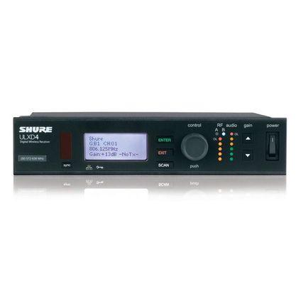 SHURE B帯デジタルワイヤレスチューナー(ULXD4-AB)