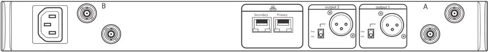 SHURE B帯デジタルワイヤレスチューナー(ULXD4D-AB)