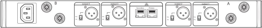SHURE B帯デジタルワイヤレスチューナー(ULXD4Q-AB)