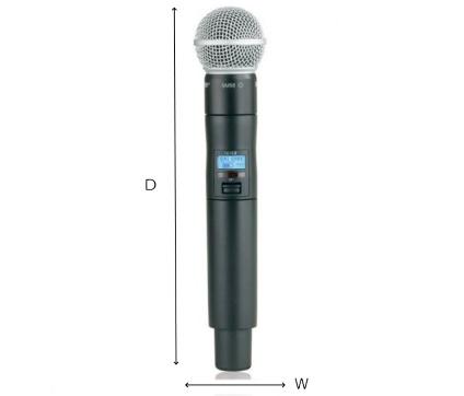 SHURE B帯デジタルワイヤレスマイク(ULXD2/SM58-JB)