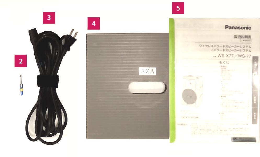 Panasonic パワードスピーカー(WS-X77)