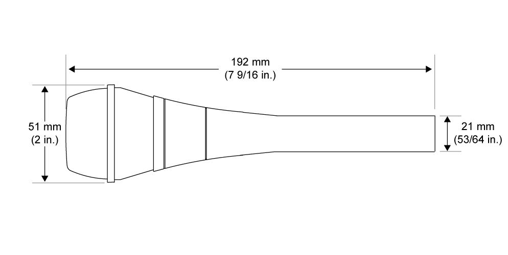 SHURE コンデンサーマイク(BETA87A)