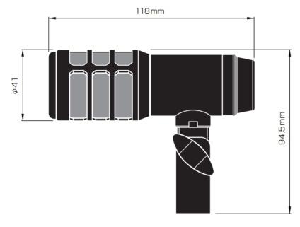 オーディオテクニカ ダイナミックマイク(ATM25)
