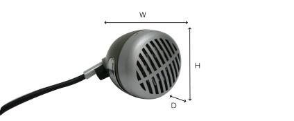 SHURE ハーモニカマイク(520DX)