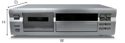 YAMAHA カセットプレーヤー(KX-493)