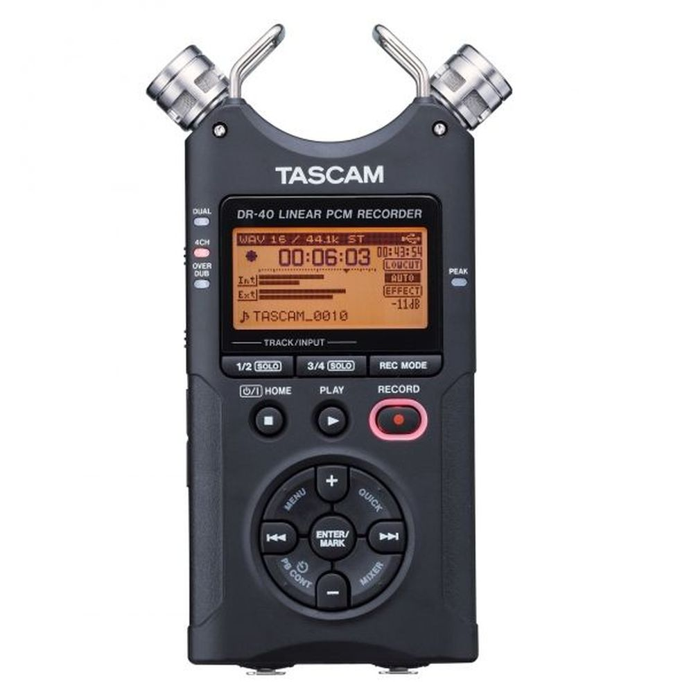 TACAM リニアPCMレコーダー(DR-40)