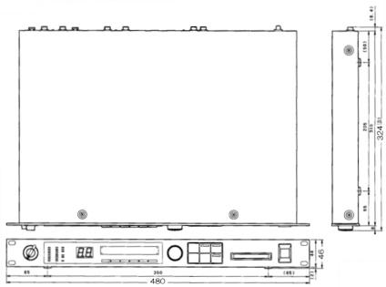 YAMAHA マルチエフェクター(SPX990)