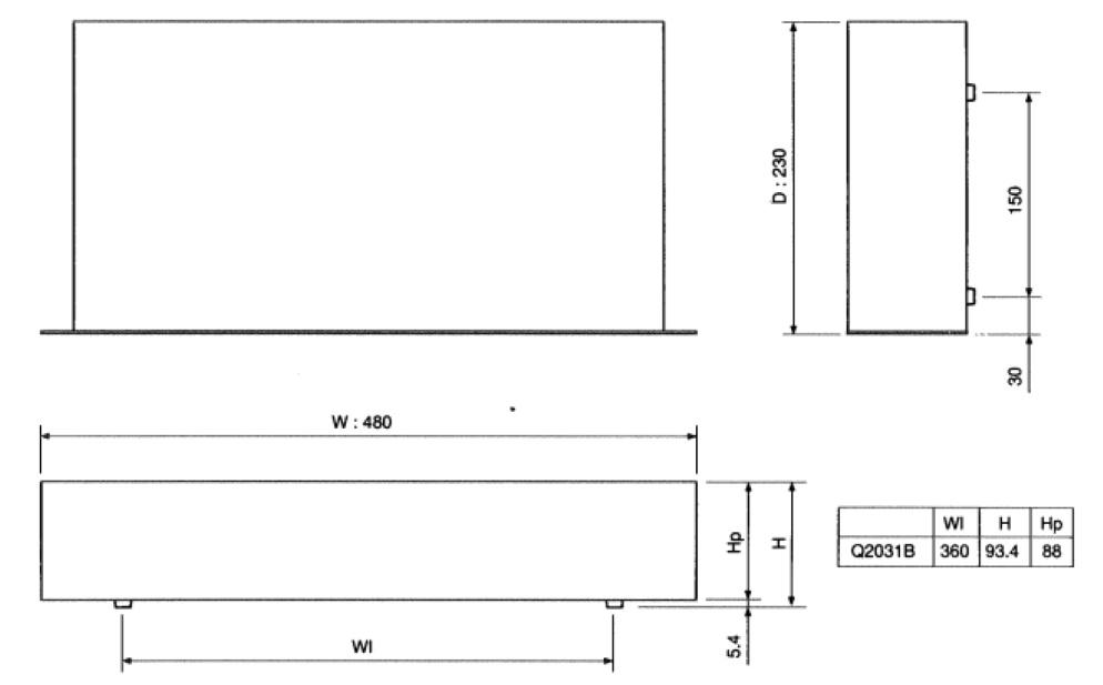 YAMAHA グラフィックイコライザー(Q2031B)