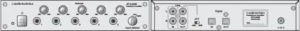 オーディオテクニカ ヘッドホン分配器(AT-HA65)