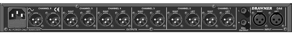 DRAWMER 音声分配器(DA6)