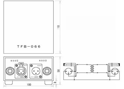トモカ 音声トランス(TFB-066-12)