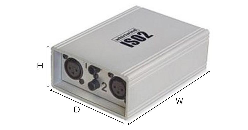 Whirlwind 2chライントランスフォーマー(ISO2)
