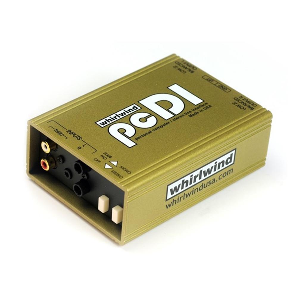 Whirlwind 2chダイレクトボックス(pcDI)