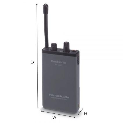 Panasonic パナガイド用受信機(RD-660Z-H)