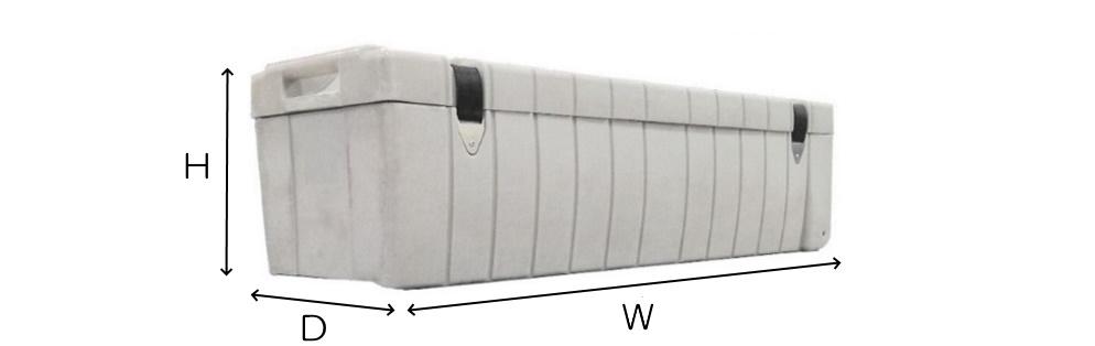 Stumpfl 165インチワイド フロントスクリーン・クリップ(MBCF-165HD)