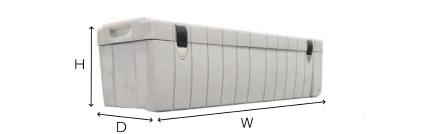 Stumpfl 210インチ フロントスクリーン・クリップ(MBCF-210)