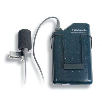 Panasonic B帯ピンマイク(WX-4300B) トランスミッター付