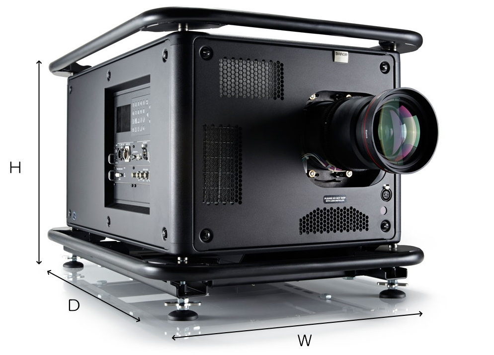 BARCO 3チップDLPプロジェクター(HDX-W12)